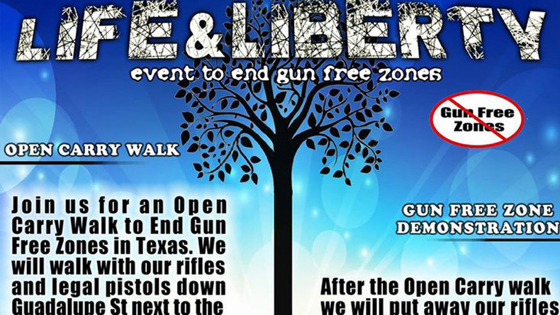 Gun activists want to stage fake mass shooting event at University of Texas, Austin