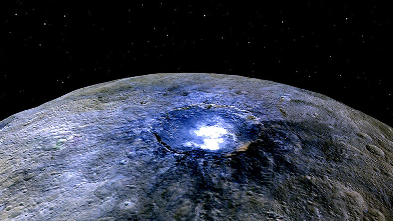 Ceres' mysterious 'bright spots' found to be salt deposits (VIDEO)