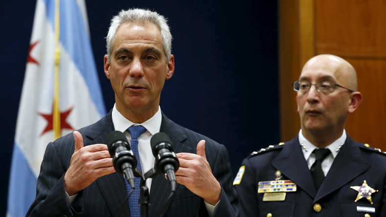 Furious Chicago protesters say they won't leave until Mayor Emanuel does: Here's why