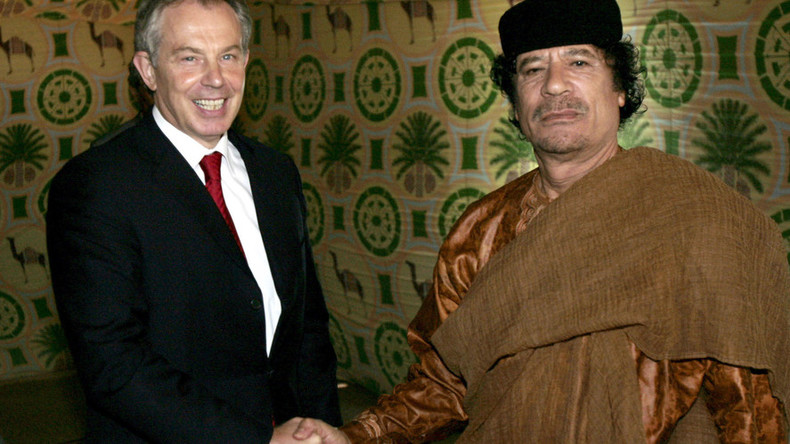Tony Blair faces MPs questions over Libya links, rendition flights