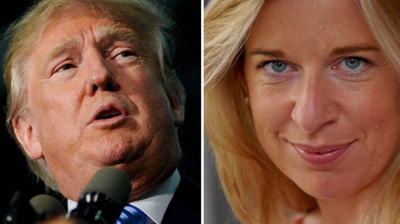 Bed fellows? Donald Trump tweets endorsement of Katie Hopkins