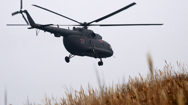 Russia denies its helicopter violated Georgian airspace