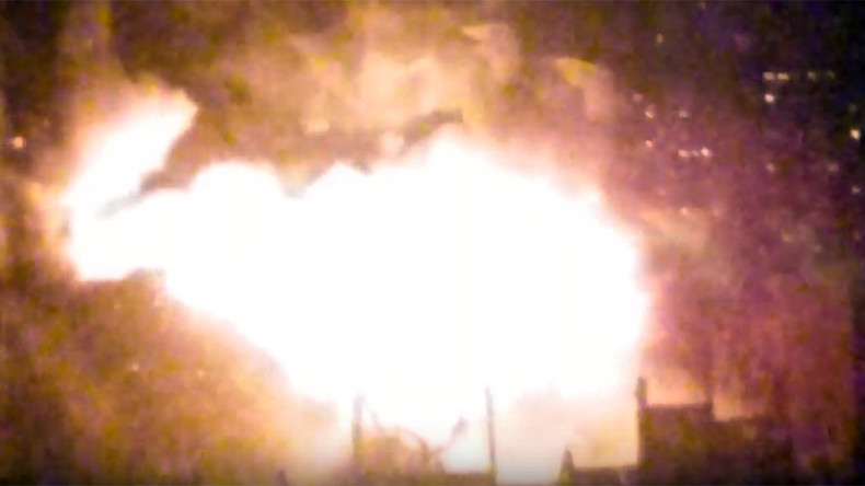 Huge fire erupts at Moscow factory (PHOTOS, VIDEOS)