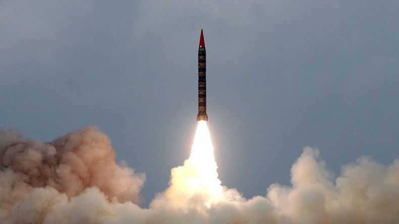 Pakistan test-fires its most advanced nuclear-capable ballistic missile