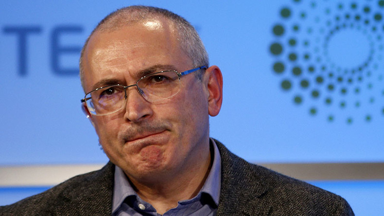 Investigators press murder conspiracy charges against Khodorkovsky