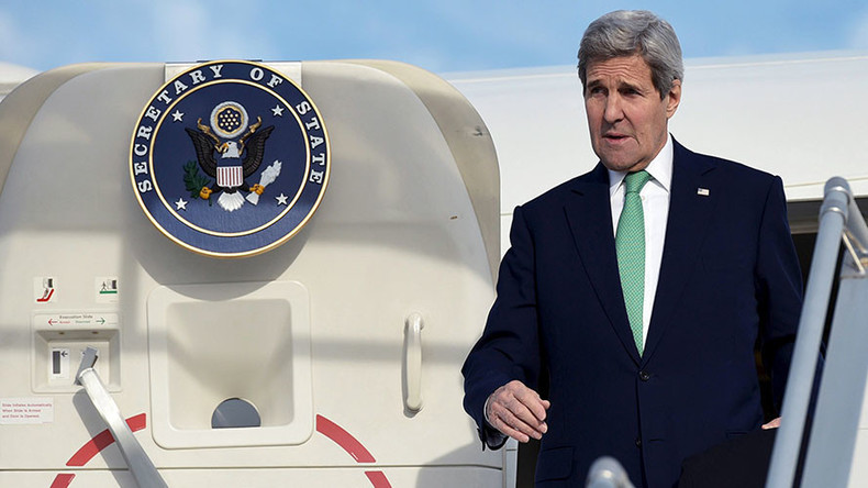 John Kerry to meet with Putin, Lavrov to discuss Syria & Ukraine