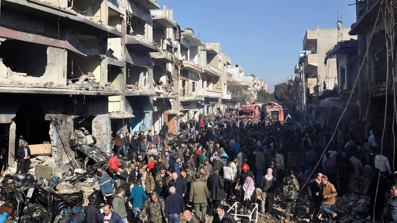 ISIS claims responsibly for Homs hospital attacks that killed at least 16