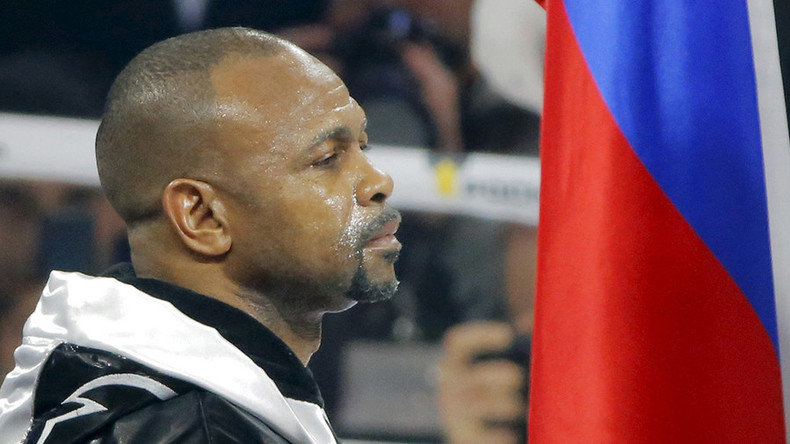 Roy Jones Jr urged to retire after Enzo Maccarinelli knocks him out in Moscow