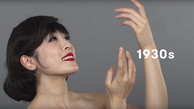 VIDEO: 100 years of Chinese beauty in one minute
