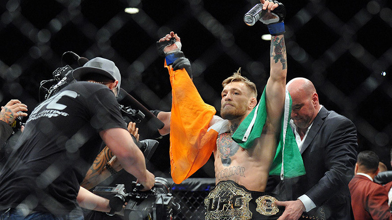 UFC 194: McGregor stuns Aldo in 13 seconds to claim UFC crown
