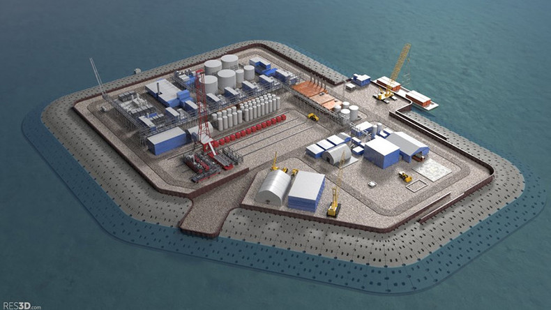 Texas oil company wants to build artificial island off Alaska to drill for black gold