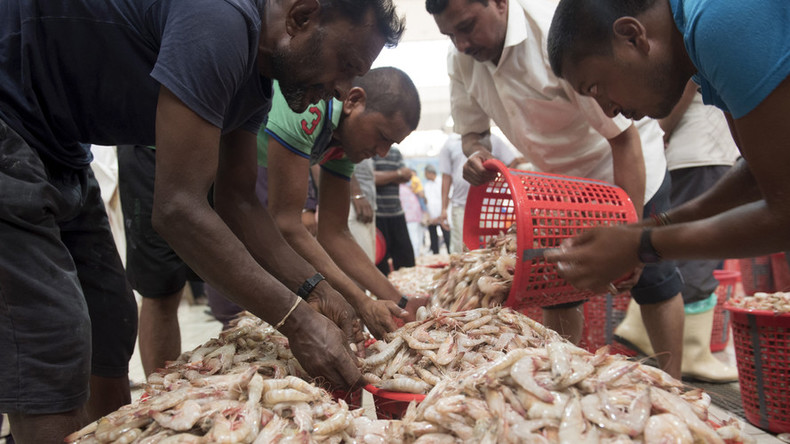 Wal-Mart, Red Lobster, Whole Foods and other retailers sell slave-peeled shrimp – report