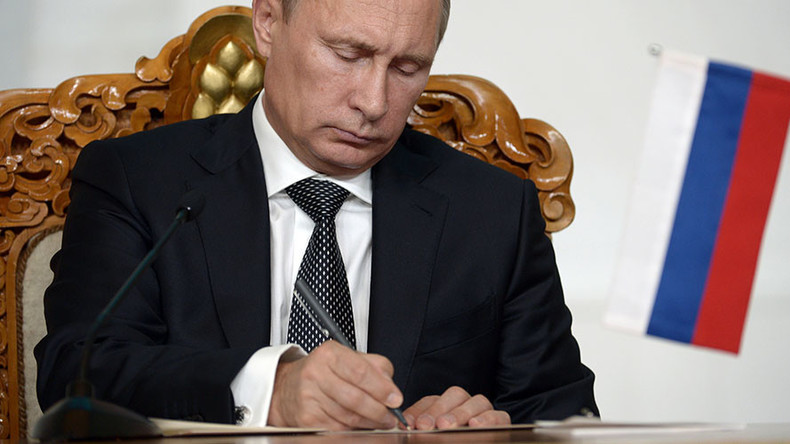Putin gives Russian Constitution priority over international court rulings