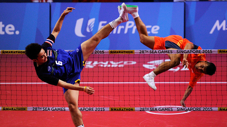 Crouching tiger, ruptured hamstring: Sepak Takraw is absolutely breathtaking (PHOTOS, VIDEO)