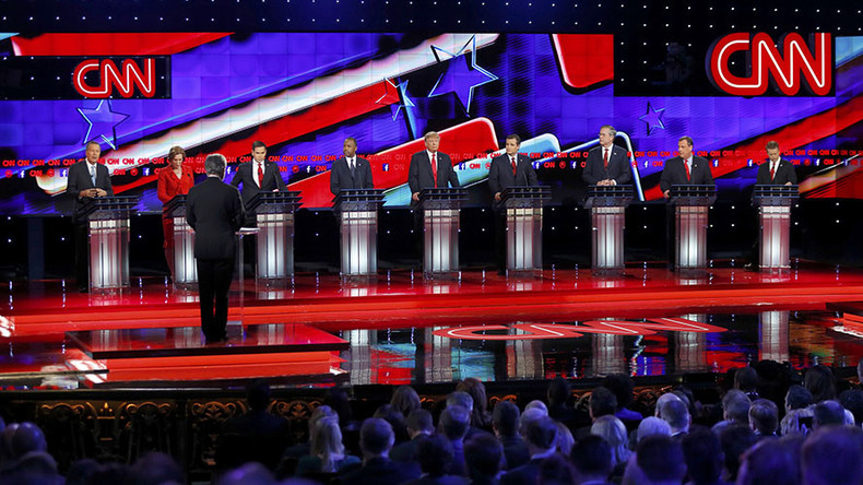 GOP debates Syria, Assad: Moderate rebels 'like a purple unicorn, they never exist'