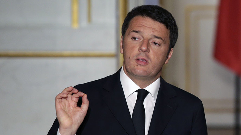 Russian sanctions to be reviewed in coming months – Italy PM Renzi