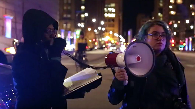 Chicago protesters block streets, 16 arrested as calls for mayor to resign grow (VIDEO)