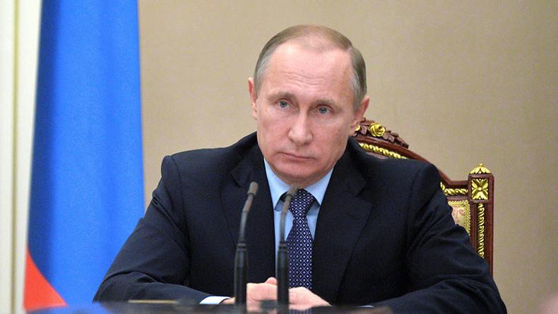 Putin signs decree suspending free trade treaty with Ukraine starting January 1, 2016