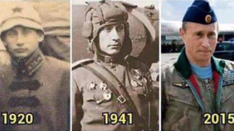 Conspiracy theorists 'prove' Vladimir Putin is actually immortal