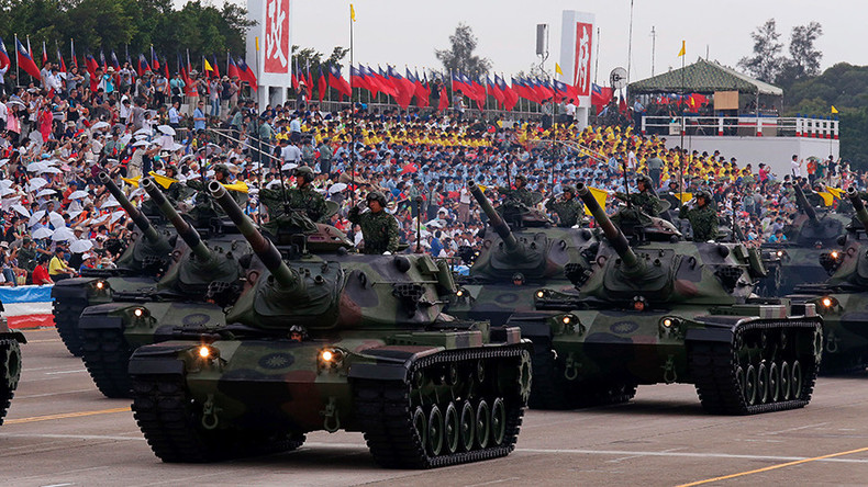 China angry as US approves $1.83bn arms sale to Taiwan