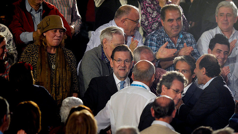 Teen punches Spanish PM in face during election walkabout (VIDEO)