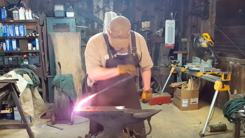 'It's a freakin' noodle': Georgia blacksmith makes video to debunk 9/11 jet fuel claims