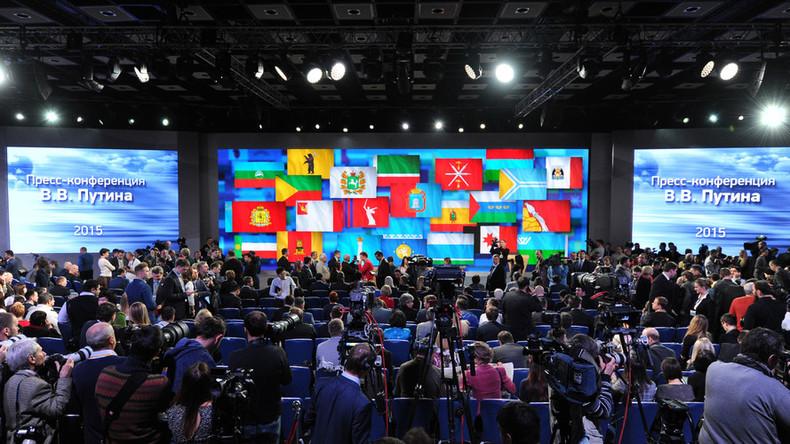 Vladimir Putin 2015 media Q&A