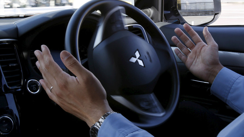Self-driving cars get into accidents because of humans