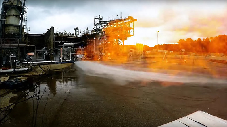 'Enough power for Mars lander': NASA tests first 3D-printed space engine (VIDEO)