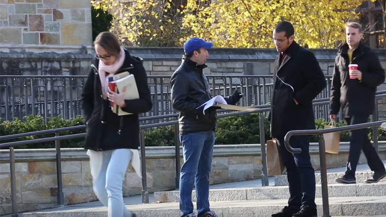 What freedom of speech? Prank petition to repeal First Amendment gets support at Yale (VIDEO)