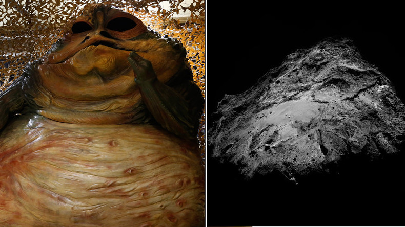 Rosetta spies Jabba the Hutt on comet 67P