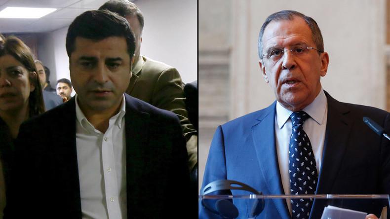 Russian FM plans to meet co-leader of Turkey's pro-Kurdish HDP party