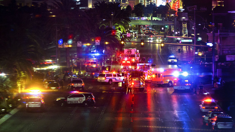 Driver in Vegas rampage identified, charged with murder