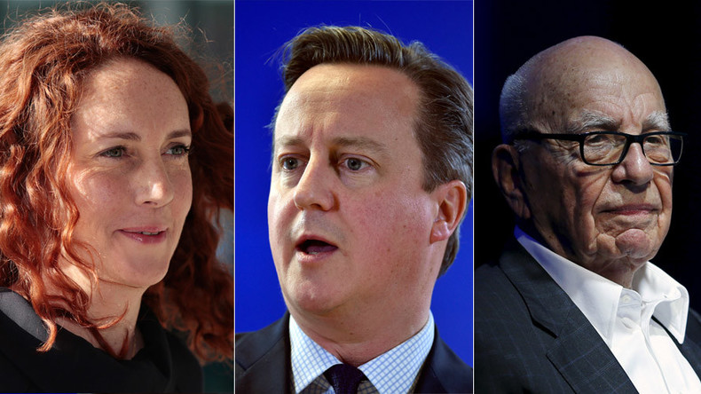Cameron, Rebekah Brooks reunited at Rupert Murdoch's party