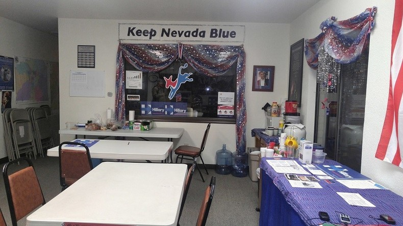 Three's a crowd: Local Nevada Democratic office shares space with Hillary, not Bernie