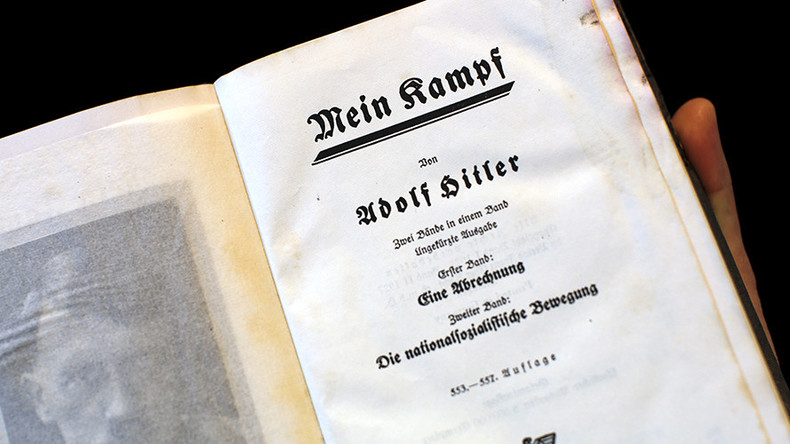 Hitler's 'Mein Kampf' Okayed for use in classrooms by Germany's education minister