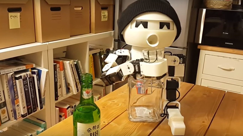 Lonely this holiday? World's first robot drinking buddy to the rescue (VIDEO)