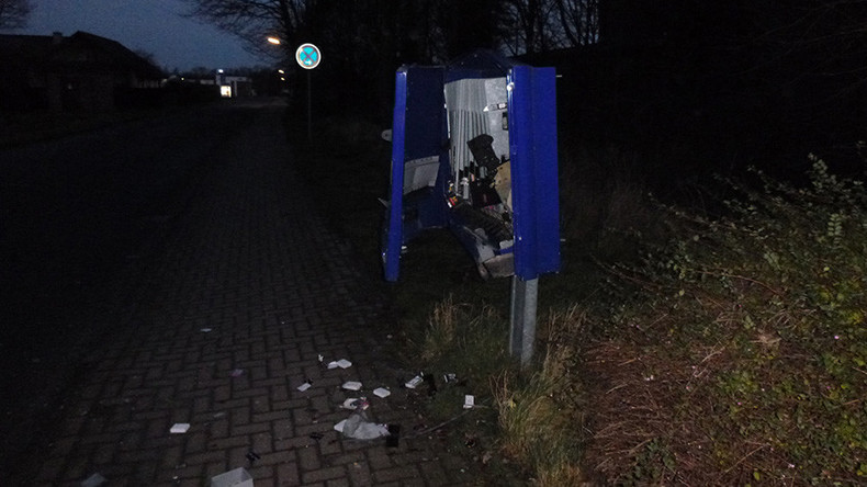 Man dies in condom machine robbery on Christmas morning