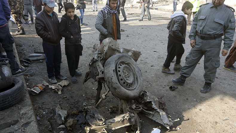 18 children wounded in a suicide attack near school in Afghan capital