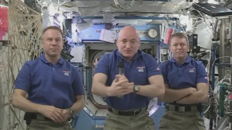 2015 – a great year in space: RT looks back as ISS crew sends New Year greetings