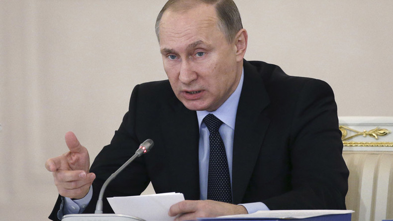 Putin signs bill allowing reciprocal impounding of foreign nations' property