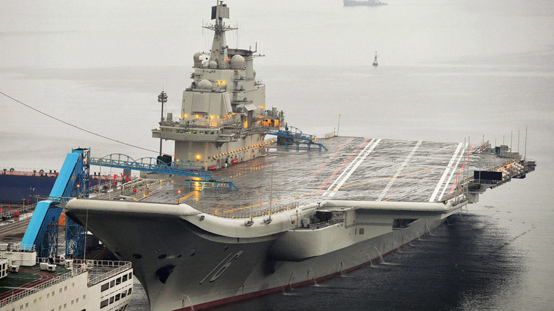 China builds new aircraft carrier in show of strength to Washington
