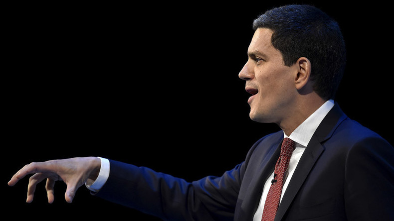 Richer than a refugee: David Miliband gets lavish £425k to head International Rescue Committee