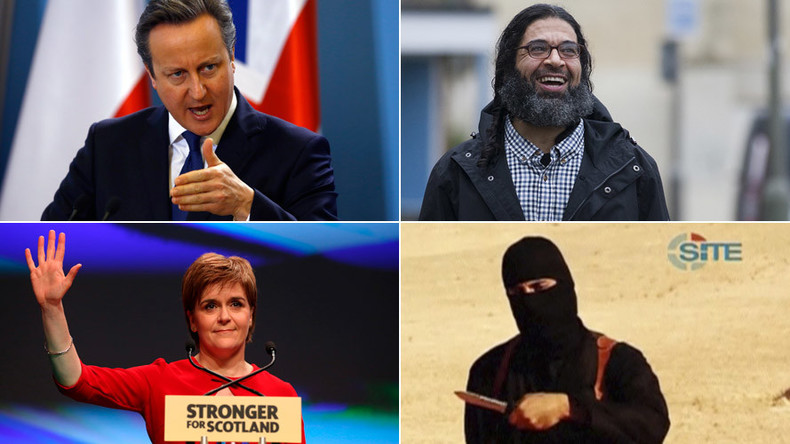Terror, anti-austerity, #Piggate & Trump: RT UK's hottest news stories of 2015