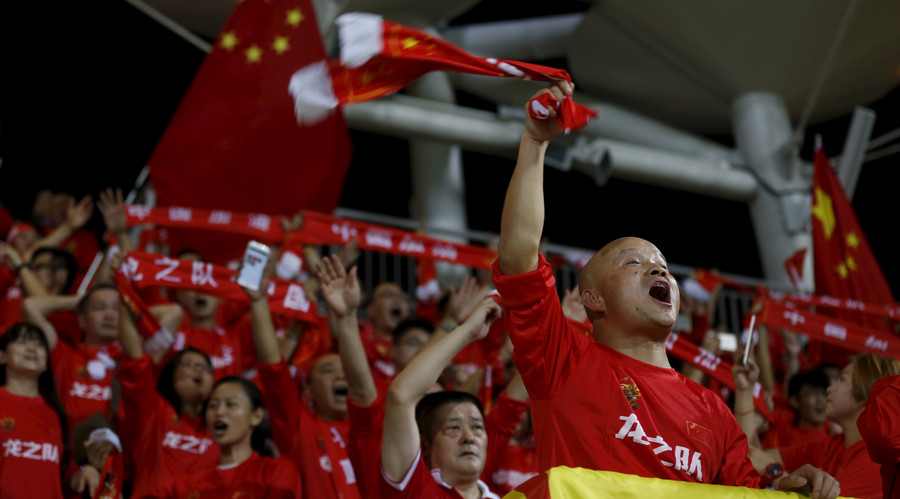 China plans to become global football powerhouse