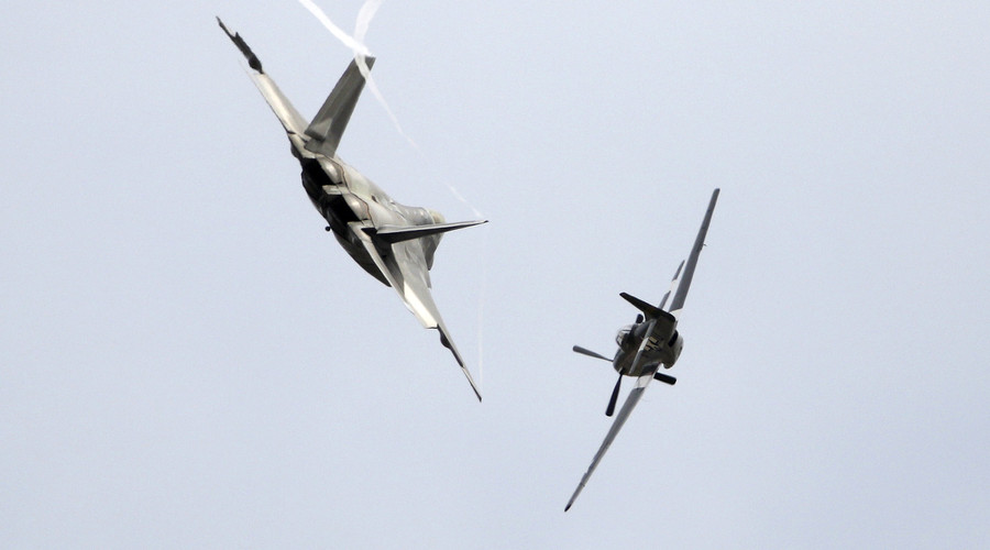 4 US-led coalition jets seen over Deir ez Zor in Syria day govt troops attacked - Russian MoD