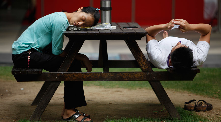 Too much sleep, sitting down shortens life – study
