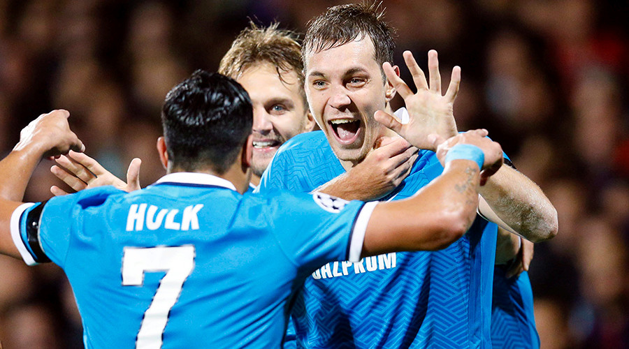 Zenit lead the way for Russian Clubs in Europe