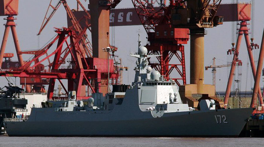 China deploys 3rd stealth cruise missile destroyer