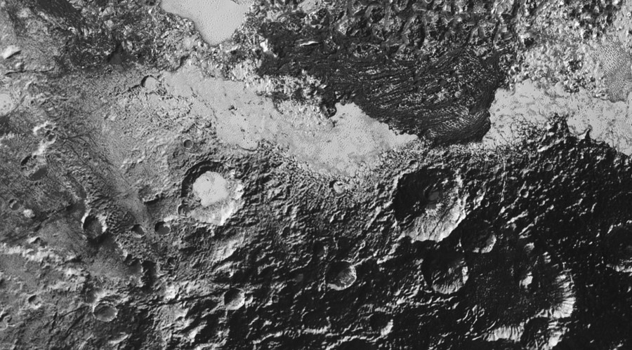 1st super high-res images of one of Pluto's possible ice volcanoes (PHOTO)
